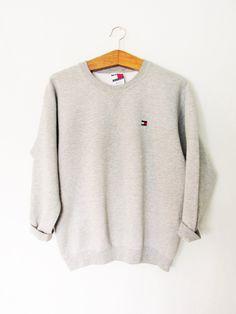 Vintage 1990s Tommy Hilfiger Sweatshirt by FreshtoDeathVintage on Etsy