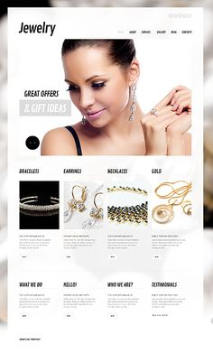 Design eats time... Get Template Espresso! That's WordPress #template // Regular price: $75 // Unique price: $4500 // Sources available: .PSD, .PHP, This theme is widgetized #WordPress #Responsive #Jewelry #Jewels #Rings #Bracelets #Necklaces