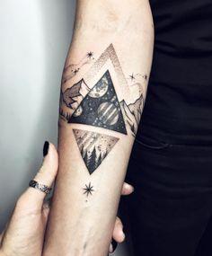 Cosmic triangle by Sasha Kiseleva