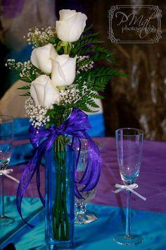 Simple Wedding Centerpieces