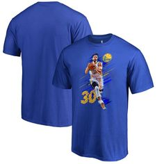 Stephen Curry Golden State Warriors Fanatics Branded Fade Away T-Shirt -  Royal Real Madrid e761d00554a