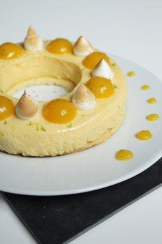 tarte-citron-mangue-gingembre9 Paris Brest, Pancakes, Cheesecake, Eggs, Magazine, Breakfast, Food, Deserts, Sweet Desserts