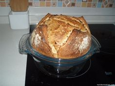Pan cebolla ikea, Pirex (thermomix)