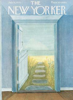 The New Yorker - Saturday, July 11, 1970 - Issue # 2369 - Vol. 46 - N° 21 - Cover by : Ilonka Karasz
