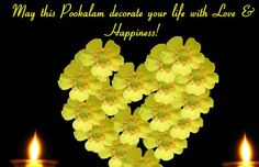 A warm ecard to send your wishes on this special occasion of Onam! Free online Onam Deepam Brightens Your Life ecards on Onam Onam Greetings, A Blessing, Holidays And Events, First Love, Special Occasion, Happy, Plants, Blessed, Life