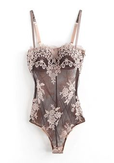I.D.Sarrieri:: Couture Strapless Body With Padded Half Cups