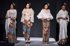 Philippine Fashion Week Spring-Summer Jun-Jun Cambe - Yahoo She Philippines Reunion Dress, Filipiniana Dress, Philippines Fashion, Ethnic Chic, Oriental Fashion, Spring Summer 2015, Wedding Bride, Style Guides, Filipina