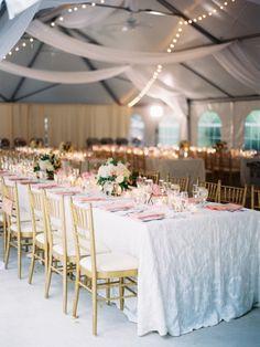 Wedding reception idea; Featured photographer: Caroline Yoon