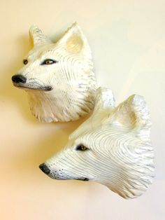 Pensive Wolf Mask by Jason Tennant. $775.00, via Etsy.