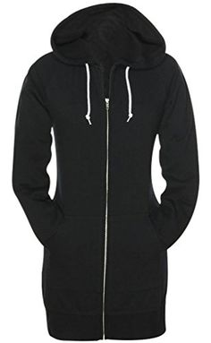 SkylineWears Women's Ladies Fashion Fleece Hoodies Casual Sweatshirt Zip Up Hoodie *** Check out the image by visiting the link.