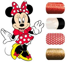 I'm such a Disney fanatic, I need to do this. :) http://www.adorkablenails.jamberrynails.net