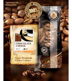Coffee-Nation Aroma-Kaffee Chocolate 500 g von GOURVITA