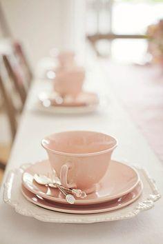 Time to tea.