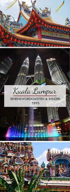Kuala Lumpur in Malaysia zählt zu den spannendensten Städten in Südostasien. In diesem Beitrag findet ihr ganz viele Sightseeing Tipps, Sehenswürdigkeiten, Things to do´s und Insider Tipps für die Metropole.  Von den Batu Caves, Masjid Jamek, Masjid Negara, indischen Tempeln bis hinzu Restaurant- und Hoteltipps.
