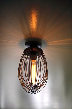 Whisk as a lamp.. love the idea from @Batter Bakery