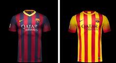FC Barcelona 2014 Fc Barcelona, Soccer Teams, Mens Tops, T Shirt, T Shirts, Sports, Tee, Tee Shirt