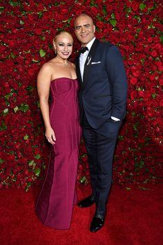 2016 Tony Awards Veronica Jackson and Christopher Jackson