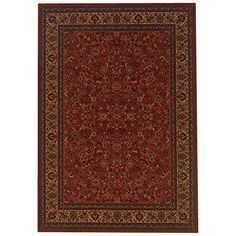 Couristan 37914872 Everest IsfahanCrimson 7Feet 10Inch Octagon Rug -- Check out this great product.