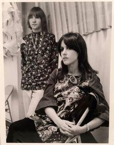 Rodney Bingenheimer with Grace Slick circa 1967
