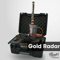 New scientific innovation in the world of gold detection and exploration devices, Gold Radar is the result of many trials and lengthy studies, which lasted for more than three years.  Gold radar device works on a built radar detection system, to detecting and searching for radioactive ionization of the gold buried underground.