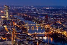 Frankfurt Main by Dorian Diefenbach on 500px