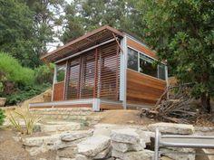 Jetson Green admires this KitHAUS K4 Writer Studio prefab modular unit in Brentwood, CA.