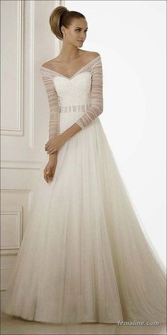 222 beautiful long sleeve wedding dresses (42)