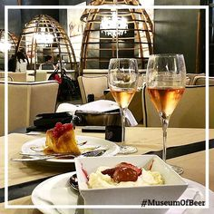 Beer or Wine....The dessert is Delicious Fantastic spot for friends. Great foodservice and ambience. #museudacerveja #lisboa #museumofbeer #lisbon #tradicional #fantastic #food #serviçe #greatfood #foodies #lisbonna