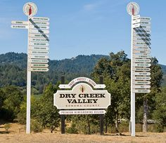 Dry Creek Valley in Sonoma County -- without a doubt, my most favorite place on Earth!!!!!