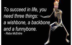 You need all three.