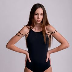 WEB BLACK bodysuit by bodysuits on Etsy