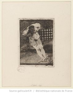 [La seguridad de un reo no exige tormento] : [estampe] ([Épreuve éditée], [État définitif]) / [Goya] - 1