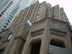 Southern California Edison Building designed in 1929 by Allison & Allison, downtown Los Angeles
