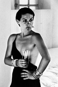 Paloma Picasso, Saint Tropez  1973  silver gelatin print  Photo: Helmut Newton