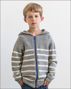 Slambert from Knits for Little Scamps 2 - an 11 pattern ebook of kids knits / På dansk i bogen Strik til Banditter