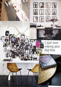 My fashion + interior moodboard