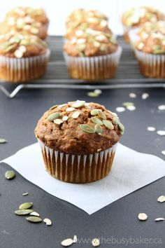 If you've been following my blog for awhile you already know how much I love making muffins. They're a great way to showcase seasonal flavou...