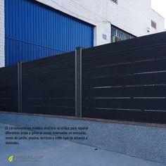 Vallado de madera sintetica exterior sin mantenimiento, http://www.neoture.es/productos/cerramientos/