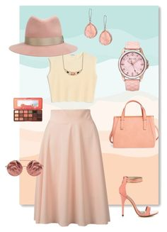 """peachy"" by evacboyes ❤ liked on Polyvore featuring Emperia, Monki, rag & bone, Michael Antonio, Ippolita, SO & CO, Too Faced Cosmetics and Matthew Williamson"