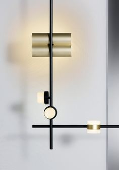 Studio Truly Truly Designs Mix & Match Lighting System for Rakumba - Design Milk Luxury Lighting, Custom Lighting, Shop Lighting, Lighting Design, End Table With Lamp, Diy Design, Blitz Design, Table Lamps For Bedroom, Lighting System