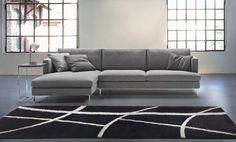 Nuove immagini del divano moderno Manhattan con chaise-longue proposto in vendita da Tino Mariani. http://www.tinomariani.it/prodotti/manhattan.html