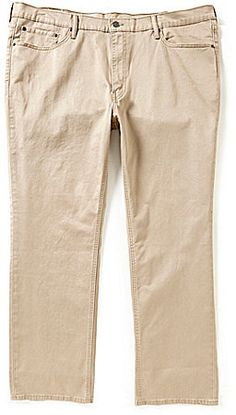 Levi's® Big & Tall 541 Athletic-Fit Twill Jeans Big & Tall Jeans, Mens Big And Tall, Dillards, Khaki Pants, Athletic, Stylish, Fitness, Shopping, Clothes