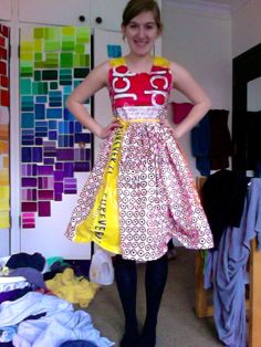 PHOTOS: Teen's Awesome Cardboard Prom Dress | Recycled fashion ...