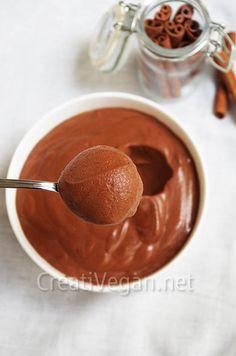 Mousse de chocolate - Vegan desserts