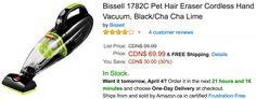 Amazon Canada Deals: Save 30% on Bissell Pet Hair Eraser Cordless Hand Vacuum 71% on Rachael Ray Pot Holder & M... http://www.lavahotdeals.com/ca/cheap/amazon-canada-deals-save-30-bissell-pet-hair/185305?utm_source=pinterest&utm_medium=rss&utm_campaign=at_lavahotdeals