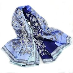 cbeeb92c9 GEXING Silk Large Square Bronzing Scarf Mulberry Oversized Shawl A Pack Of  5,A-110-100cm: Amazon.co.uk: Clothing