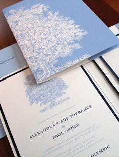 Custom Wedding Invitations | Eco-Friendly Invitations | Brown Sugar Design