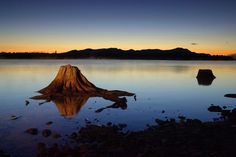 150年前梭羅曾三度遊歷緬因州的車桑庫克湖(Chesuncook Lake)。(Getty Images)