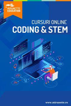 Coding, Science, Engineering, Technolgy & Mathematics(STEM) sunt cateva dintre subiectele pe care le poti invata vara aceasta. Daca ai intre 10 si 13 ani si iti doresti sa programezi ca un profesionist sau visezi sa devii un inginer de succes, Cursul Online de Coding/STEM oferit de Mirunette Education este cel mai placut mod de a invata vara aceasta. Afla mai multe detalii! Microsoft, Coding, Learning, Studying, Teaching, Programming, Onderwijs