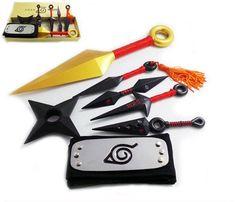 Naruto Shippuuden Sasuke Metal Transformable Shuriken Cosplay Weapon Toy Boxed